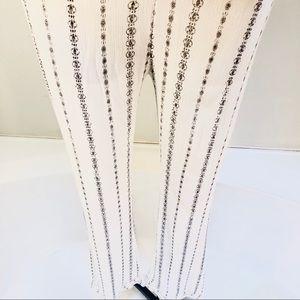 NWOT Black & White Gauze Pants COMFY!!